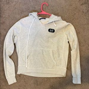 Abercrombie and Fitch Logo Hoodie